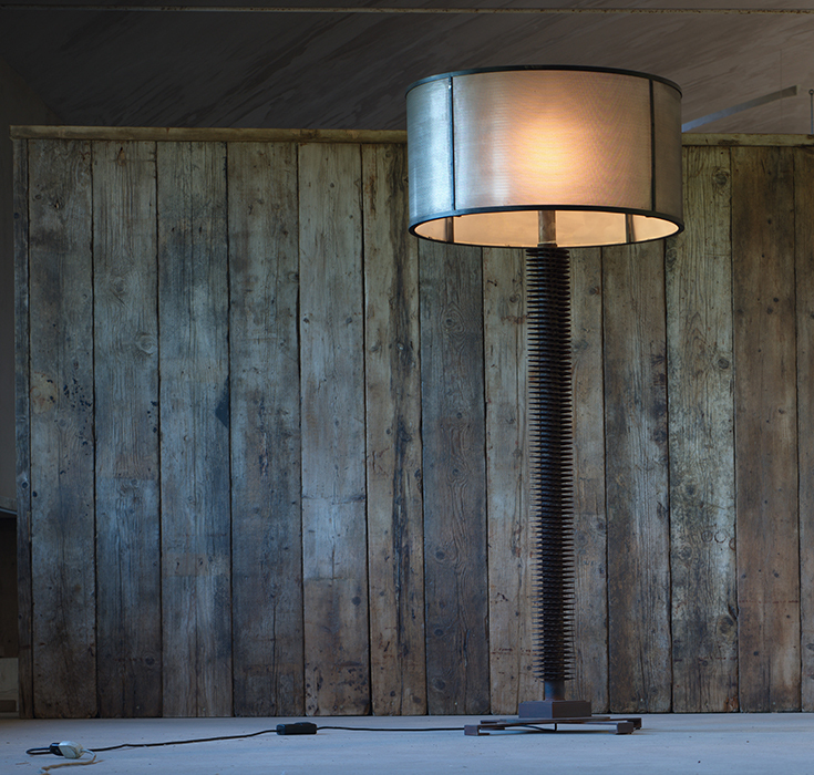 The reclaimed standard lamp horizontal 2