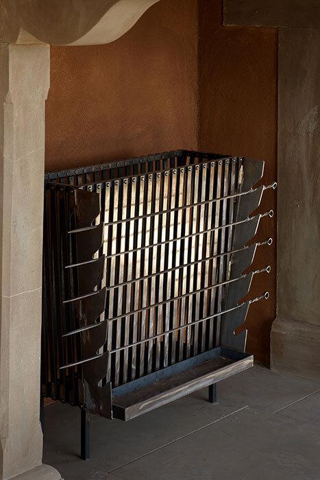 The roasting grate horizontal 1
