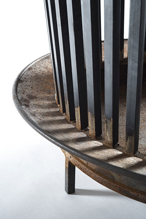 The round grate horizontal 2