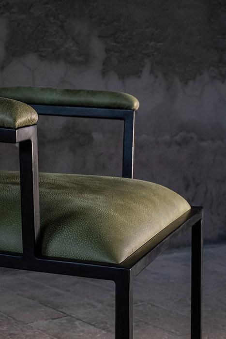 The simple armchair horizontal 1
