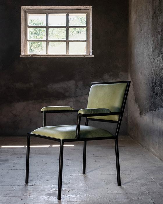 The simple armchair horizontal 2