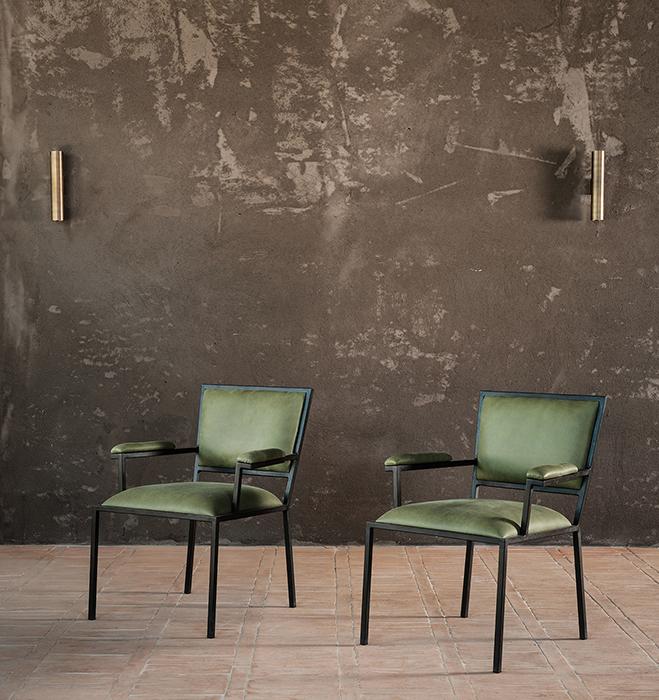 The simple armchair horizontal 6