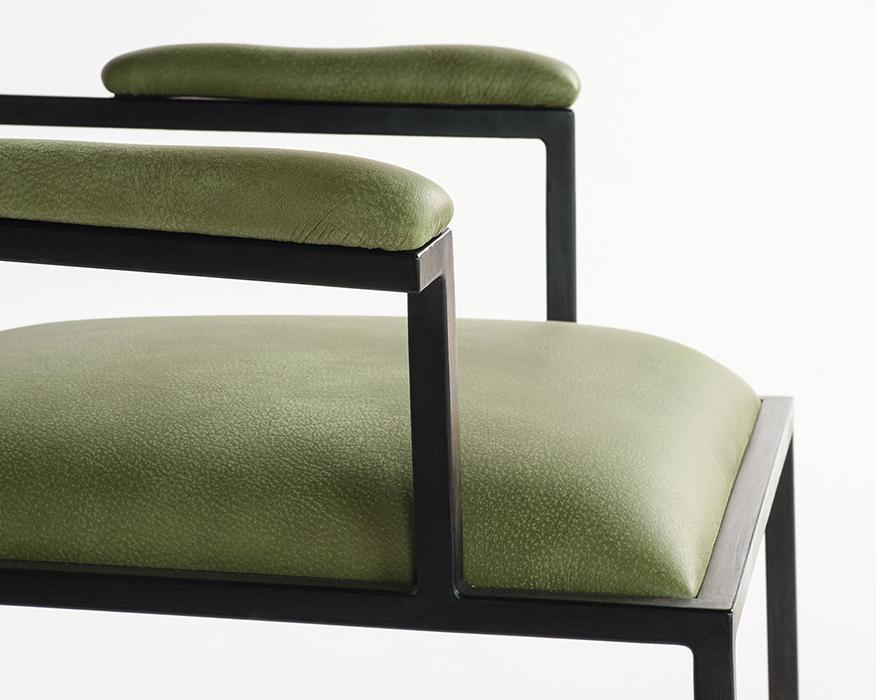 The simple armchair horizontal 7