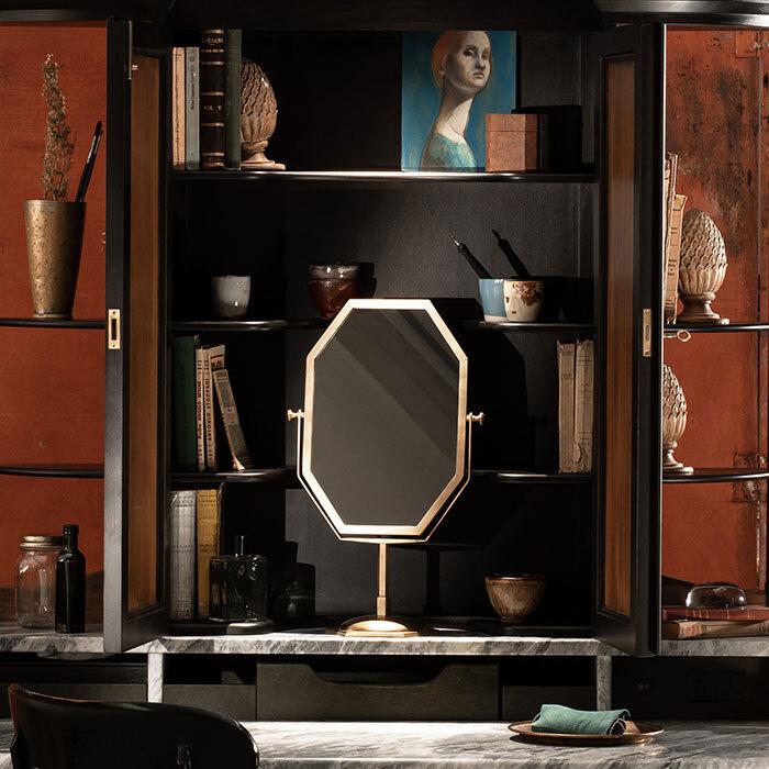 The standing mirror horizontal 3